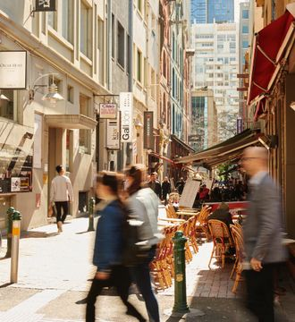LANEWAYS & BOURKE ST MALL